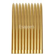 Duni Candle Taper Antique Gold