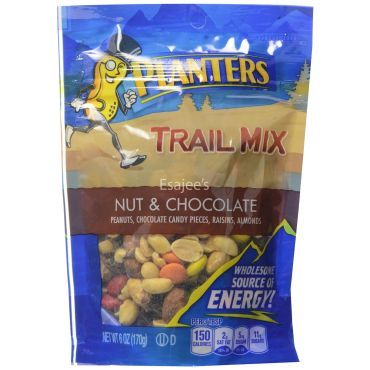 Planters Trail Mix Nuts & Chocolate Bags on trial mix, tortilla mix, snack mix, party mix, soup mix, chex mix, vanilla pudding mix, just mix, planters cheese curls, planters peanuts, chocolate pudding mix, mocha coffee mix, bisquick mix, planters spicy nuts cajun sticks and, planters cocoa almonds,