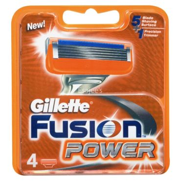 Gillette Fusion Gillette Shaving Materials Power