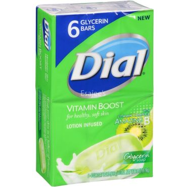Dial Soap Vitamin Boost Lotion Infused