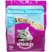 Whiskas Adult 1+ Hairball Control Cat Food 450g