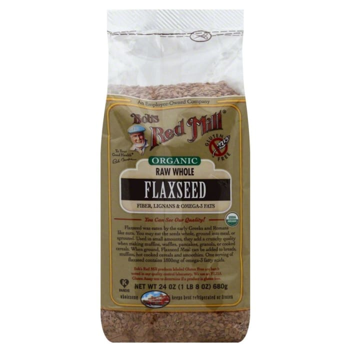 Bob's Red Mill Organic Raw Whole Brown Flaxseeds