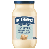 Hellmann's Lighter Than Light Mayonnaise 400 Grams