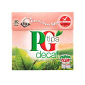 PG TIPS Pg Tips Decaf Tea Bags