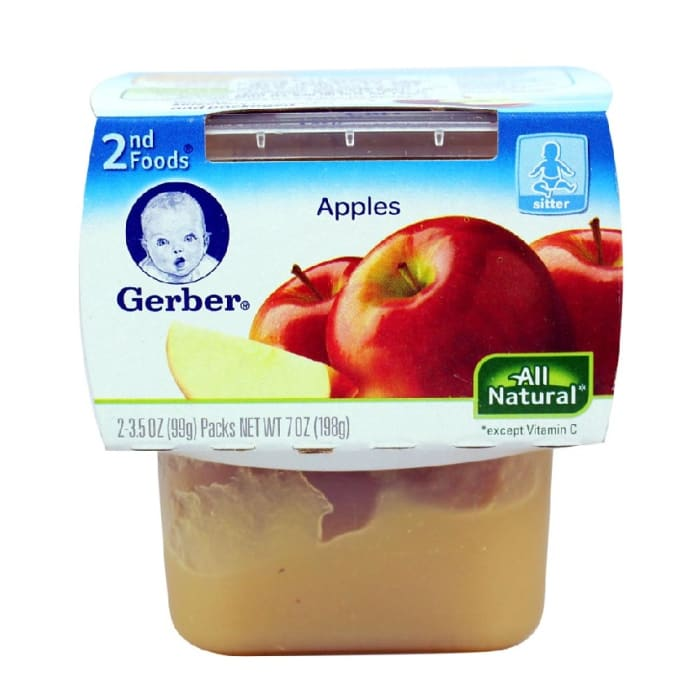 Gerber 2nd Foods Apples Baby Food