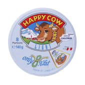 Happy Cow Light Low Fat Cheese 8 Portions 140g