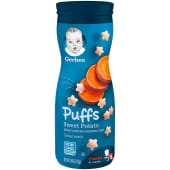 Gerber Puffs Sweet Potato Cereal Snack 42 Grams - Crawler 8+ Months