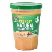 Mother Earth Crunchy Natural Peanut Butter 380 Grams