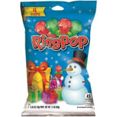 Ring Pop Sour Christmas Lollypop Candy 40g