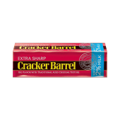 Cracker Barrel Extra Sharp Cheddar Cheese Red