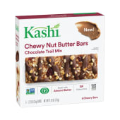 Kashi Chewy Nut Butter Bars Double Chocolate Almond Butter 185g