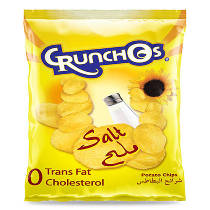 Crunchos Chips Salted Natural Potatoes 40g
