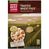 Mom's Best Naturals Toasted Wheatfuls Cereal 467g