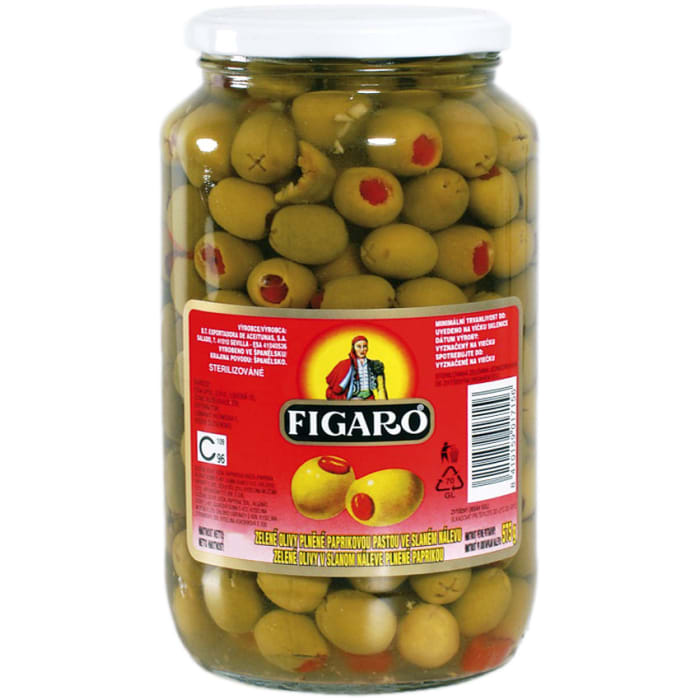 Figaro Pimiento Paste Green Olives