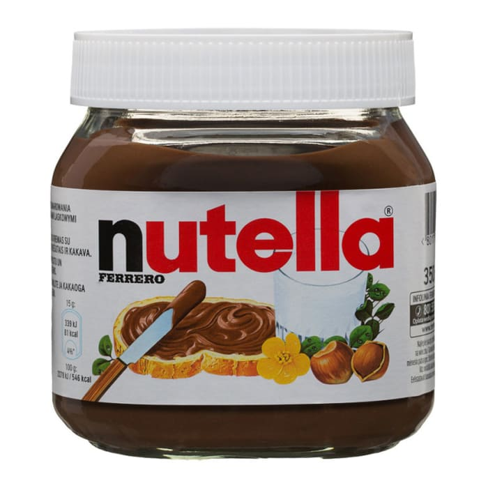 Nutella Ferrero Hazelnut Spread With Cocoa