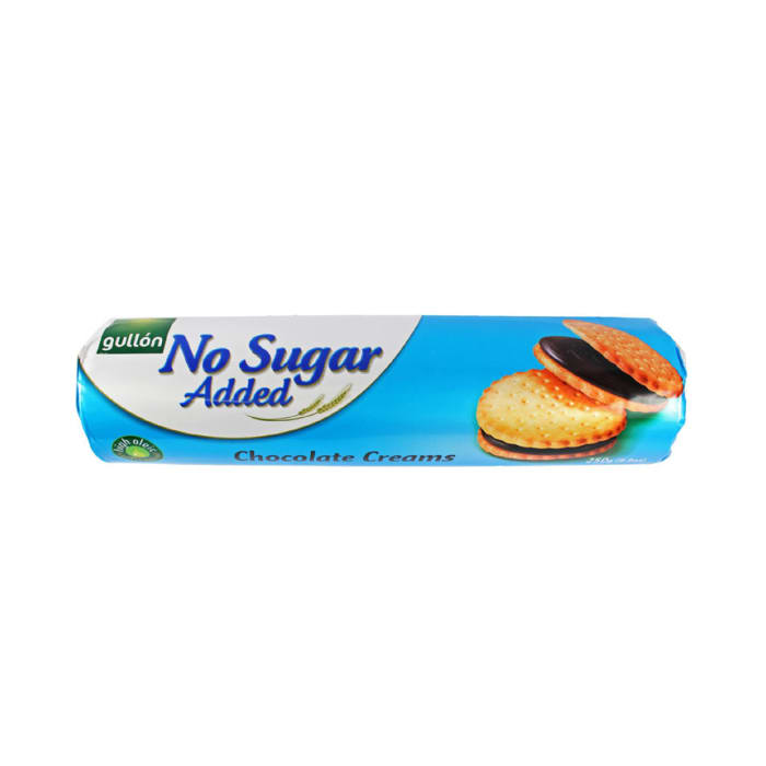 Gullon No Added Sugar Chocolate Cream Sandwich Cookie