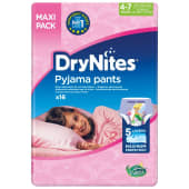 DryNites Pyjama Pants Maxi Pack 4-7 Years 17-30 Kg | 16 Pieces