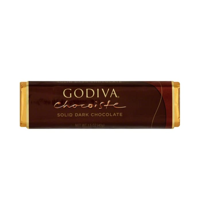 Godiva Chocolate Solid Dark Bar
