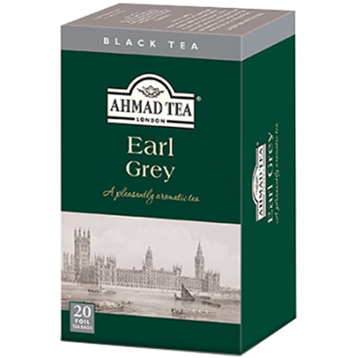 Ahmad Black Tea 20 Tea Bags Earl Grey 40g