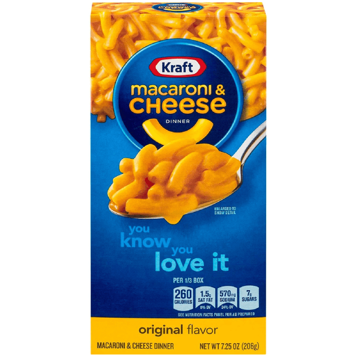 Kraft Pasta Macaroni & Cheese The Cheesiest 206g