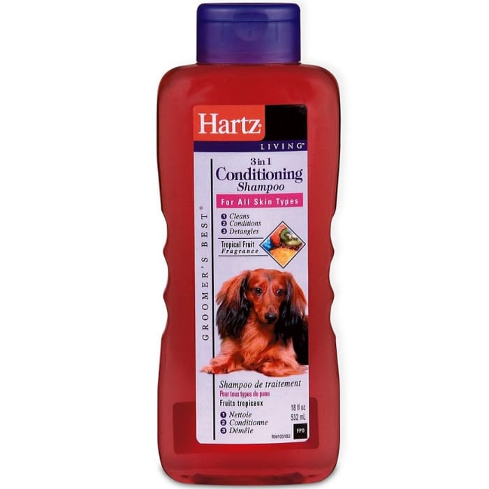 Hartz Dog Conditioning Shampoo 3 In 1 Groomers Best Extra Gentle