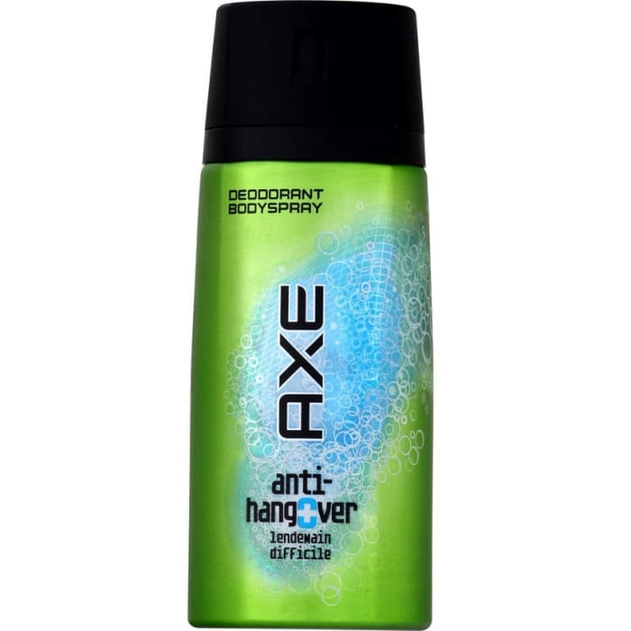 Axe Body Spray Anti Hangover