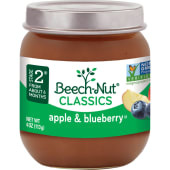 Beech Nut Classics Apple & Blueberry  Baby Food 113g