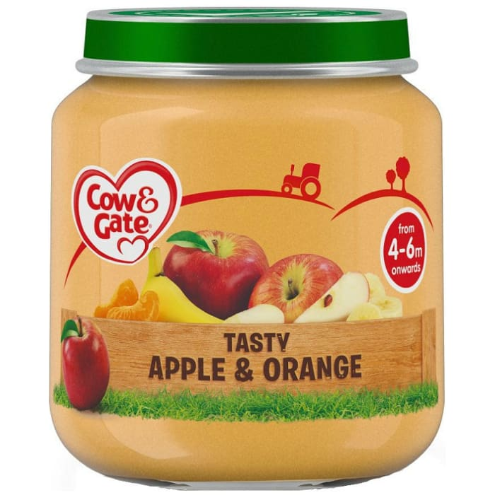 Cow & Gate Apple & Orange Baby Pudding