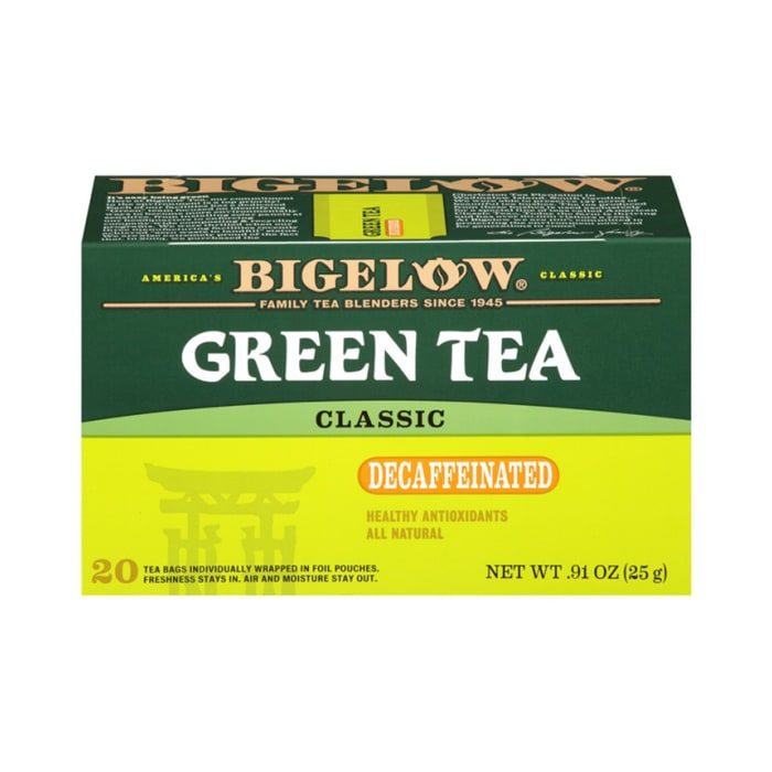 Bigelow Green Tea With Classic Decaffeinated 25g