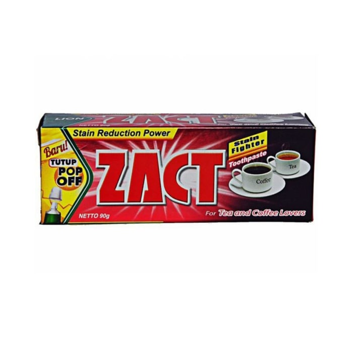 Zact Whitening for Tea and Coffee Lovers Toothpaste 90g