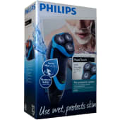 Philips AT750 Wet And Dry Electric Shaver - Black and Blue