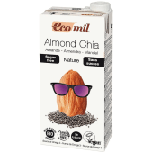 Ecomil Almond Chia Nature Sugar Free Milk