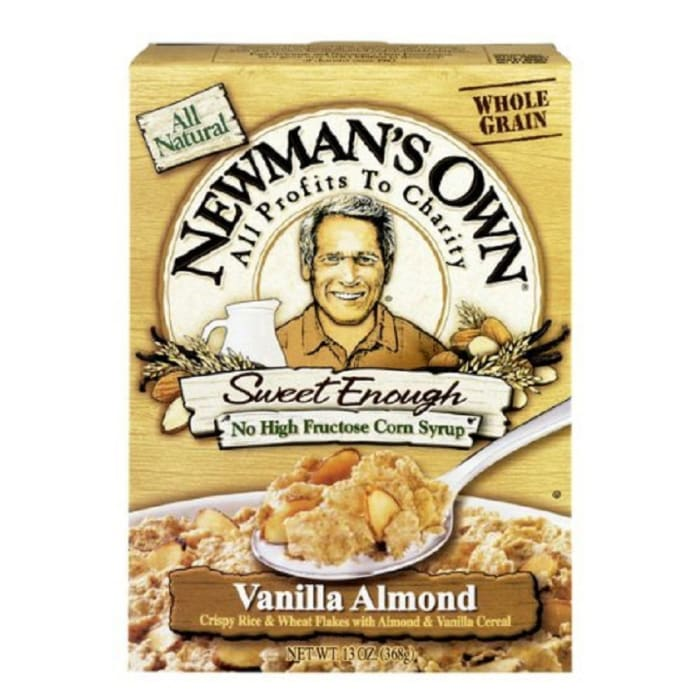 Newman's Own Vanilla Almond Cereal