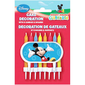 Mickey Mouse Clubhouse Cake Decoratio Candles 8/ct