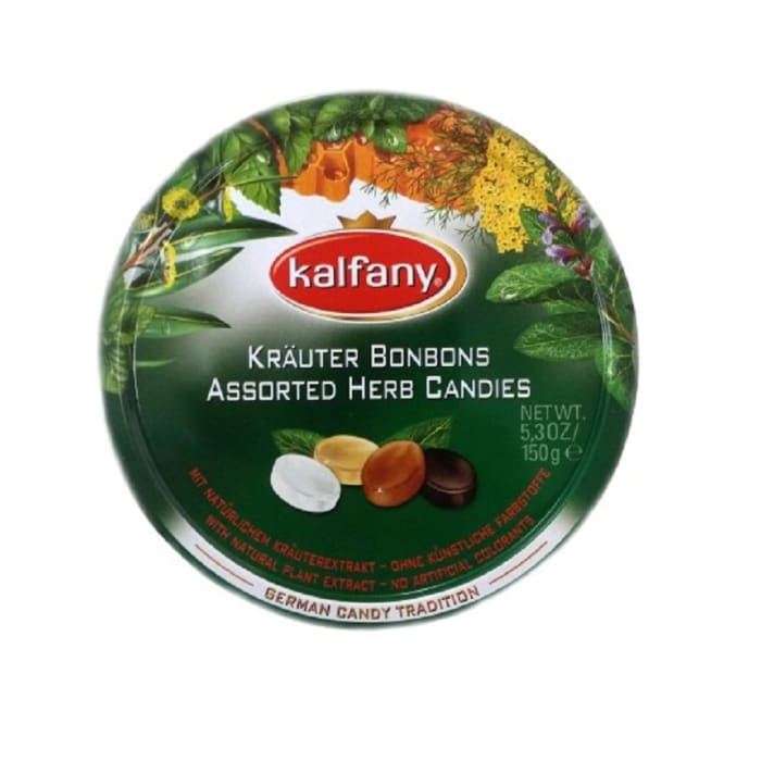 Kalfany Candy Krauter Bonbons Assorted Aux Plantes