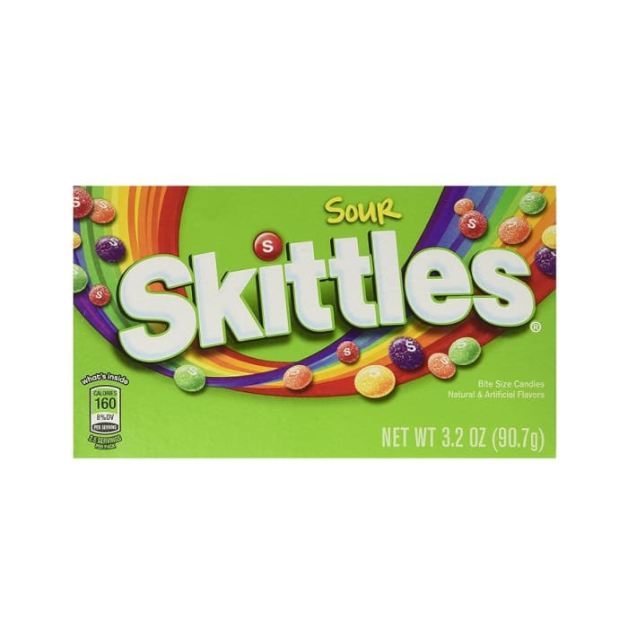 Skittles Sours Flavor Candies