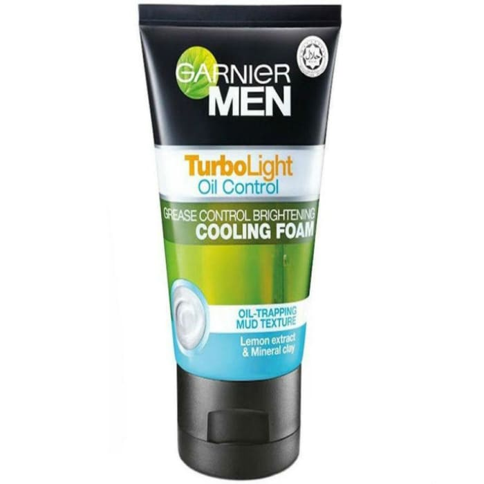 Garnier  Turbolight Oil Control Anti-grease Brightening Cooling Facial Foam