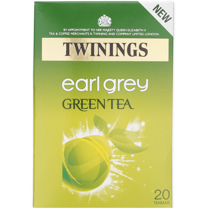 Twinings Green Tea Earl Grey