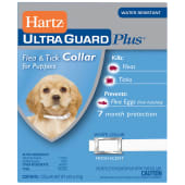 Hartz Ultra Guard Plus Tick & Flea Control Collar Puppy