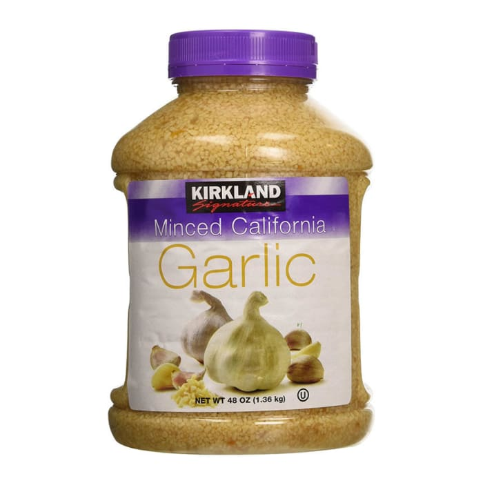 Kirkland  Signature Minced Garlic In Water
