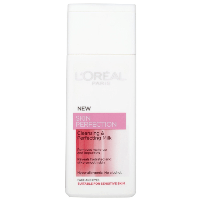 L'Oreal Skin Perfection Cleansing & Perfecting Milk - Alcohol Free