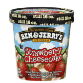 Ben & Jerrys Cheesecake Strawberry Ice Cream