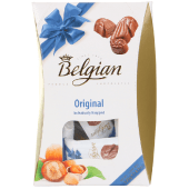 Belgian Seahorse Milk Chocolates with Hazelnuts 135g