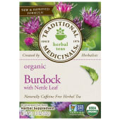Traditional Medicinals Organic Burdock With Nettle Leaf Tea Bags