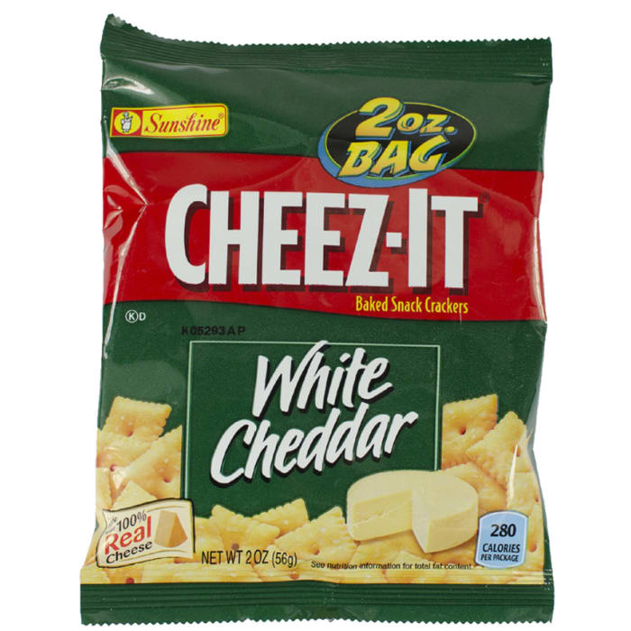 Cheez-It Baked White Cheddar Snack Crackers
