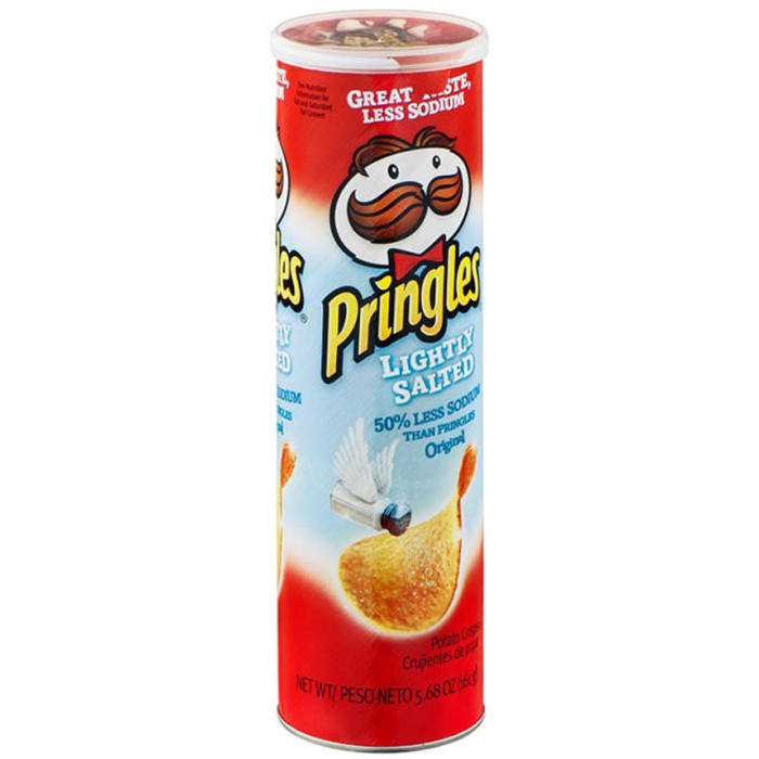 Pringles  Lightly Salted Chips
