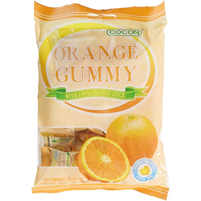 Cocon Orange Gummy with 100% Orange Juice