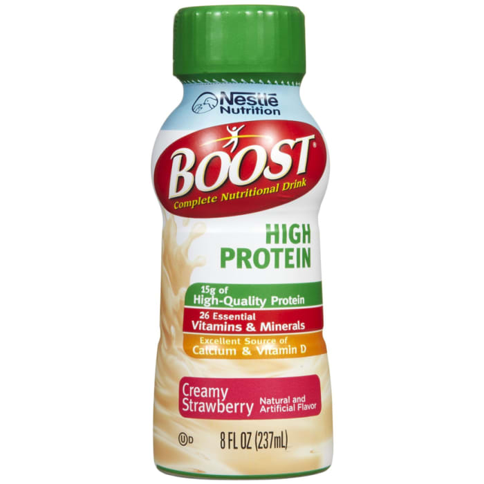 Boost High Protein Complete Nutritional Drink Strawberry