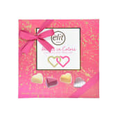 Elit Chocolate Hearts In Colors 160g