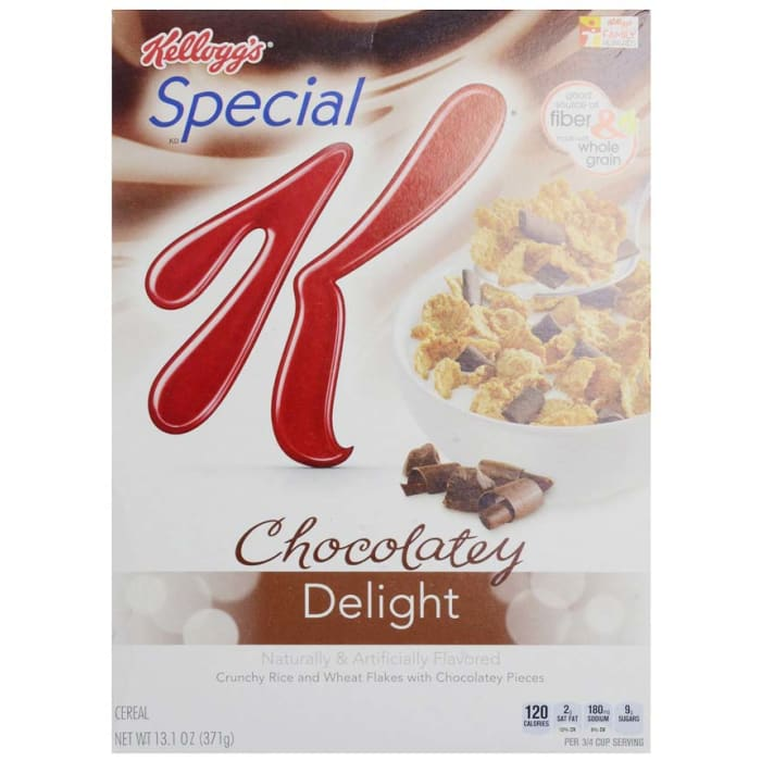 Kellogg's Special K Chocolate Delight Cereal